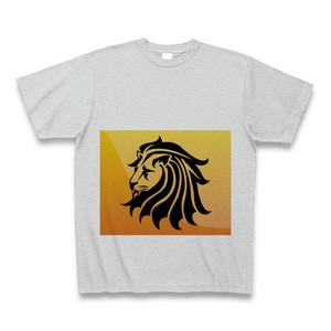 ライオンTシャツ グレー