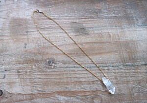 14kgf Crystal necklace