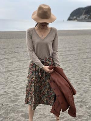 skirt / floral