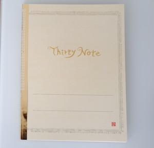 和紗オリジナルNote 「ThirtyNote」