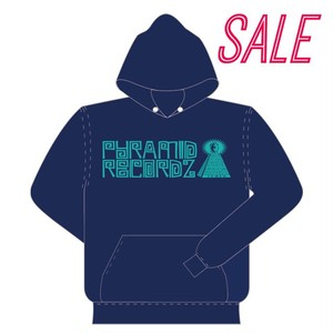 Heavy Weight Hoodie〈Navy × Turquoise〉
