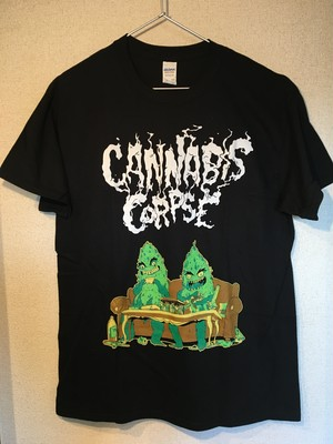 "Cannabis Corpse ""Couch Dudes"" Tシャツ"