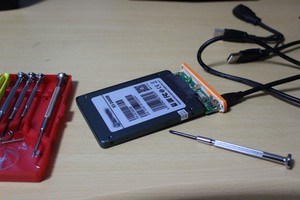 SSD交換(500GB)