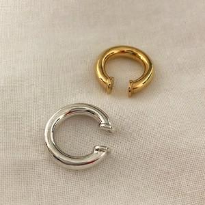 Silver925  circle earcuff 0182