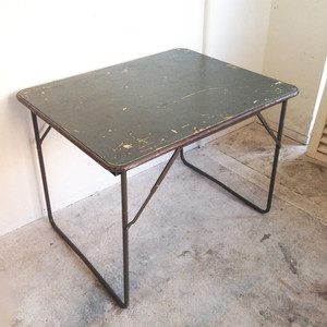 French ARMY Folding Table vintage フランス
