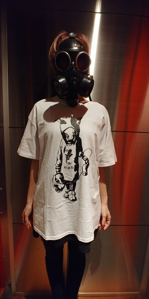 Bug Screaming IJEN KAI Boar Tシャツ 白