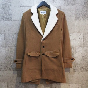 REASON CLOTHING CLASSIC SHEARLING OVERCOAT