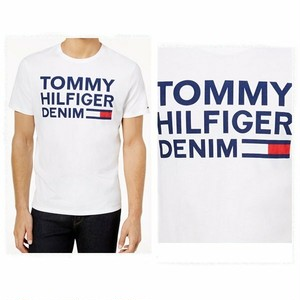 TOMMY HILFIGER	トミーヒルフィガー Tommy Hilfiger Denim Graphic-Print T-Shirt Tシャツ
