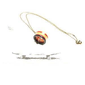 Mad Wood / 指輪ネックレス(金属チェーン)