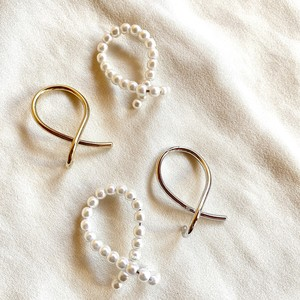 pearl string ear cuff set