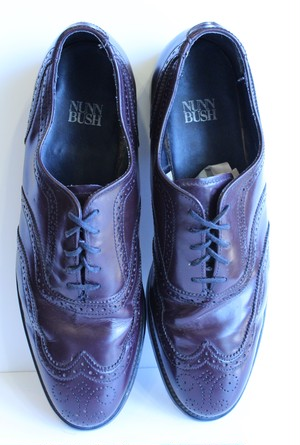 "Leather ""NUNN BUSH"" Shoes"