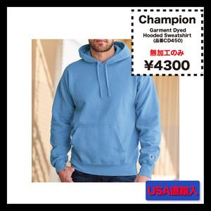 Champion Garment Dyed Hooded Sweatshirt (品番CD450)