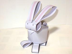 いちまいでいのち「ウサギ(白)」(ダウンロード販売)
