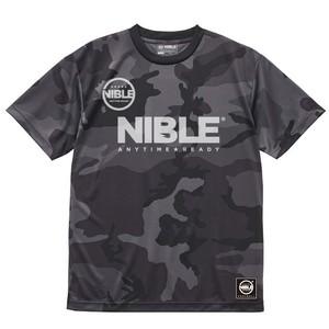 Nible Dry Athletic T-Shirt / Camo Black