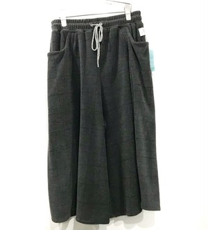 カクレミ wide pants gray