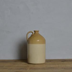 Pottery Bottle / ポタリー ボトル〈フラワーベース・瓶・ディスプレイ・オブジェ・アンティーク・ヴィンテージ〉110904