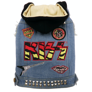 fabdog(ファブドッグ)KISS DENIM JACKET【XS~XLサイズ】
