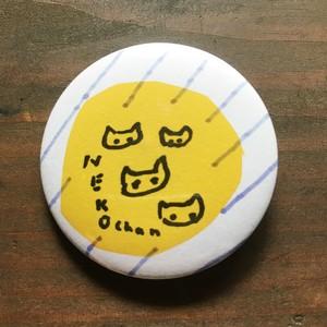 コラージュ缶バッジ「NEKO chan」 B