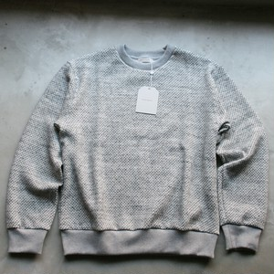 UNIVERSAL PRODUCTS / MIDDLE WAFFLE CREW NECK