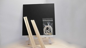 ボード 正方形・15cm 【背面木枠セット】
