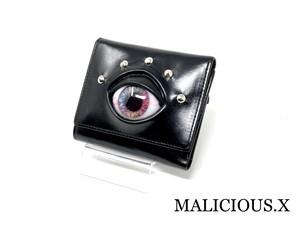 eye folding wallet / pink marble