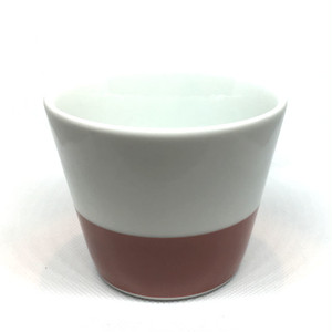 【砥部焼/梅山窯】蕎麦猪口(下朱巻)