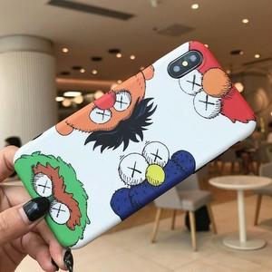 【ファッション小物】カートゥーンiPhoneX/XR/XSmaxキュートiPhone6/6s/7/8plusシリコンスマホケース