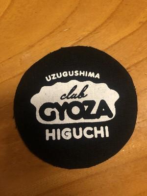 CLUB GYOZA 布パッチ
