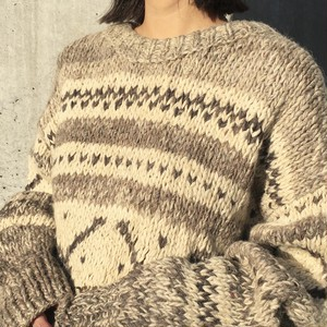 """USED """" canadian knit sweater """""""
