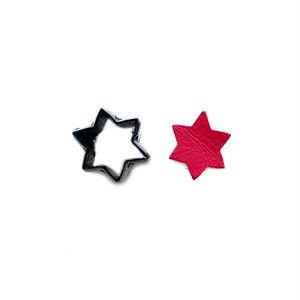 【抜き型】星 / N043