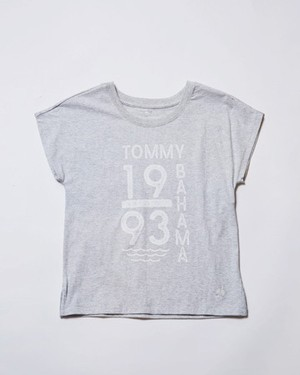 TOKYO LADIES CATCH THE WAVE/LT GREY HEATHER
