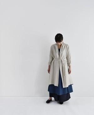 Lailha ショールコート / リネン / 生成り