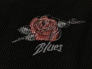 BLUES BLACK × RED ROSE