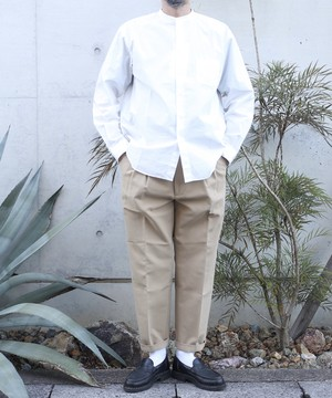 LAMOND / 2Tuck Wide Tapered Trousers
