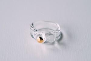 11号 cleargold ring (no.25)