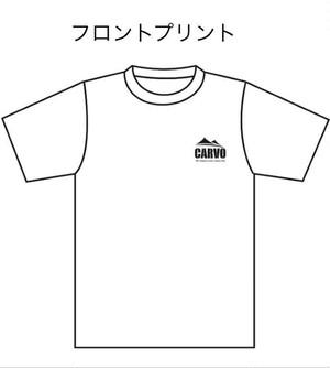 CARVO オリジナルTシャツ 【ホワイト】