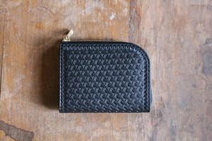 Small Wallet 〜Tochigi Leather〜 Basket L字ファスナーマルチミニウォレット