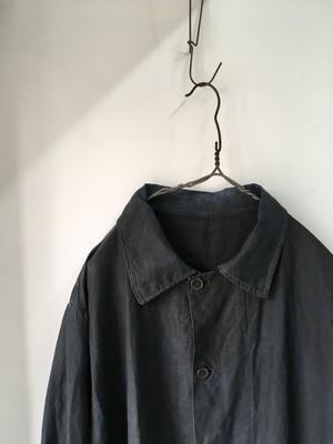 1940's Vintage French Indigo Linen Work Coat(1940年代頃 フランス インディゴリネンワークコート)