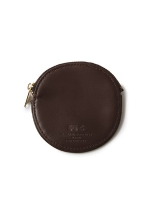 FTC(エフティーシー) / LUXE LEATHER COIN PURSE -BROWN-