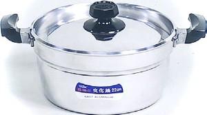五進 / 文化鍋 / アルミ / 18cm