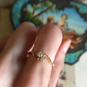 ダイヤモンド 「トワ・エ・モア」リング
