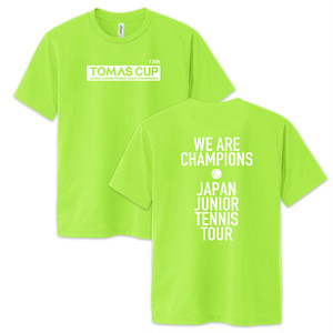 【TOMAS CUP】13th記念Tシャツ(ライトグリーン)