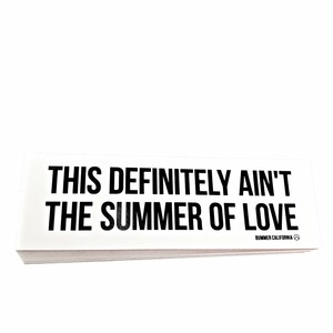 Bummer California - SUMMER OF LOVE STICKER