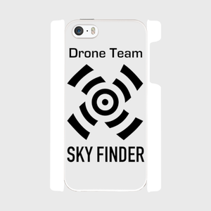 SKY FINDERケース  iPhone5/5s/SE 白