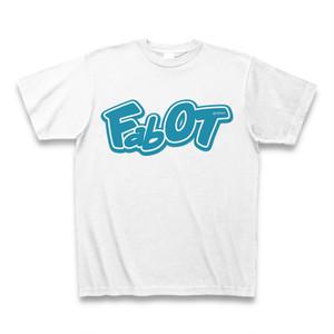 Fab OT Tシャツ (ホワイト/ターコイズ)