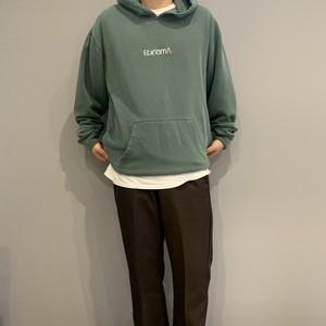 EBINOMA Henny TYPO hoodie(vintage green)