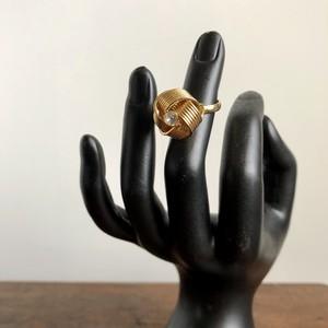 ラッピングリボンみたい指輪