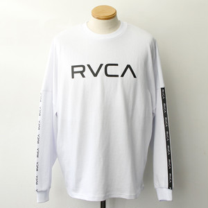 【RVCA】 BIG RVCA LS (WHITE)