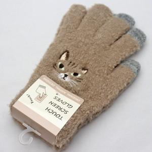 【猫キジトラ】スマホ手袋【17319-631-074】