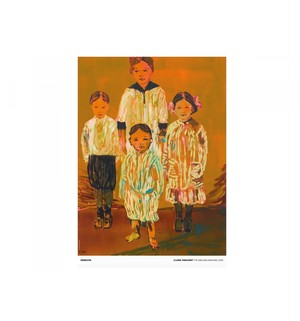 Claire Tabouret - The Siblings (orange)